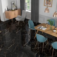 Siena Granito - Black Valcano High Gloss